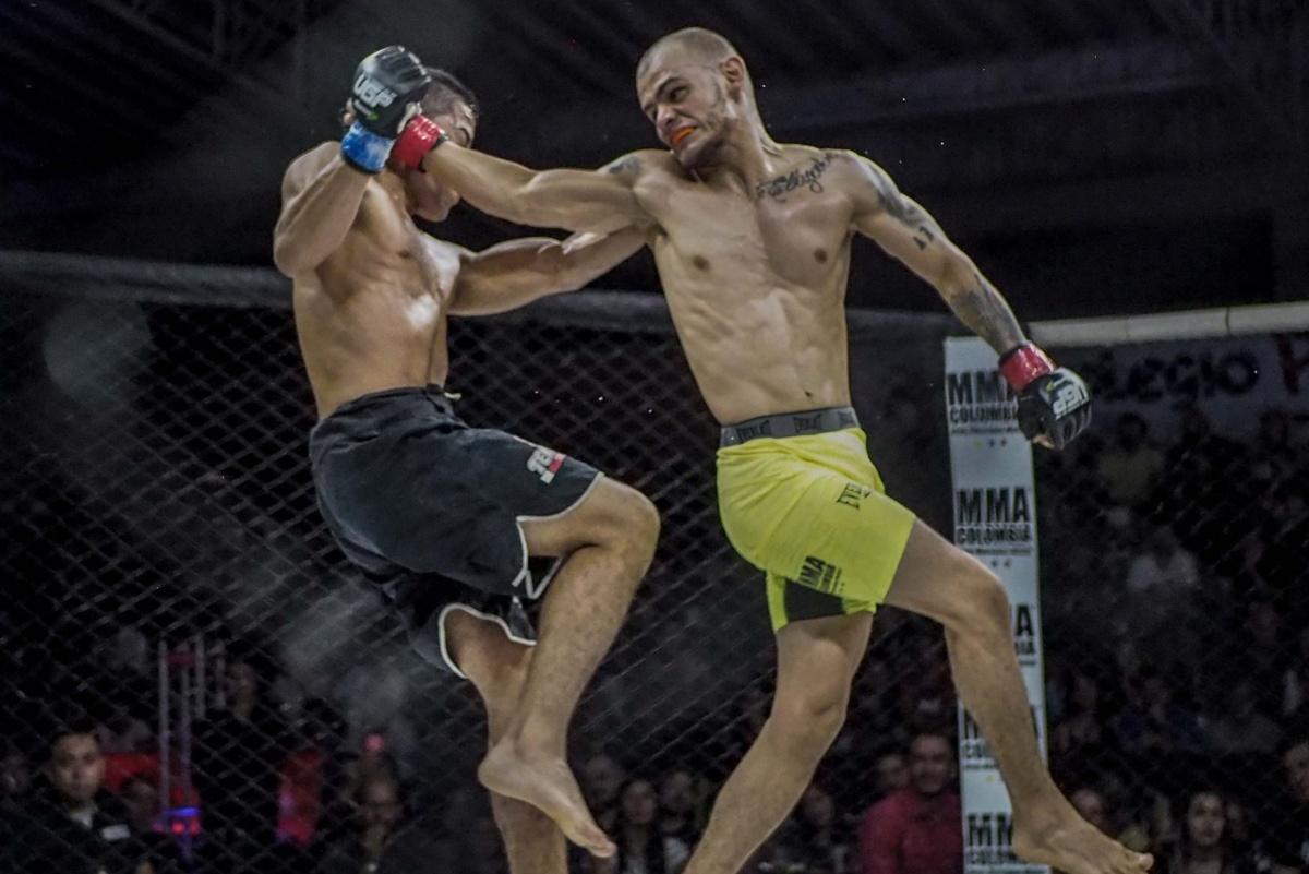 competencia artes marciales mixtas medellin mma colombia
