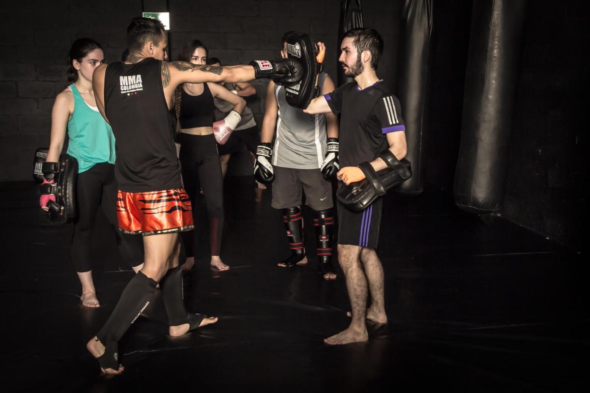 donde entrenar kick boxing en Medellín en mma colombia