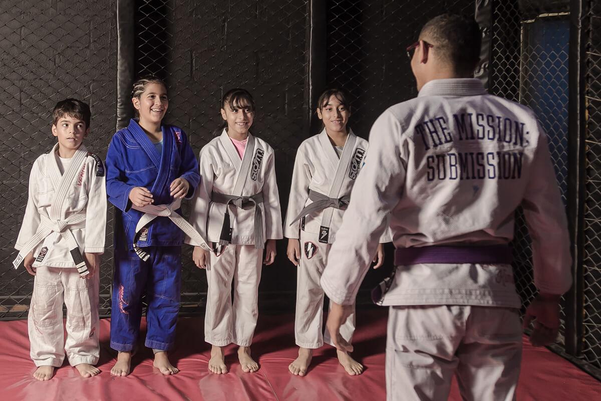 jiu jitsu brasileño para niños en medellin mma colombia