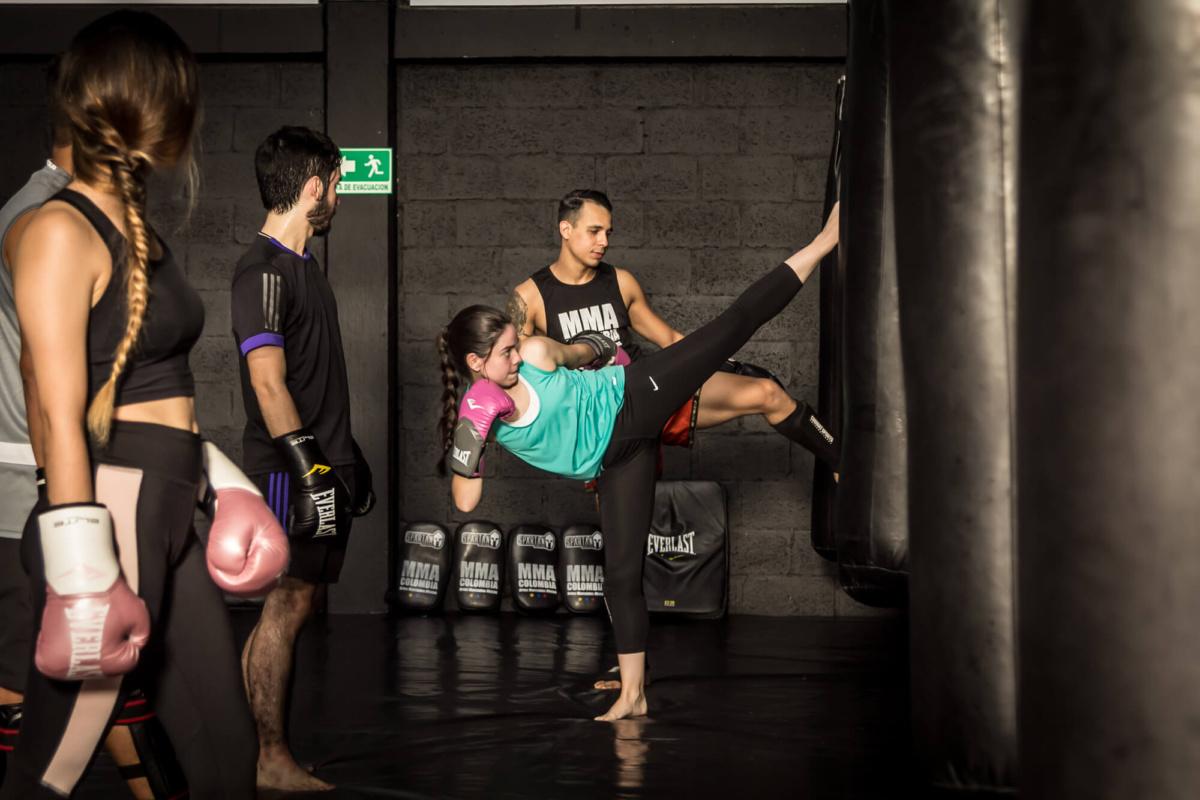 kick boxing clases medellin mma colombia