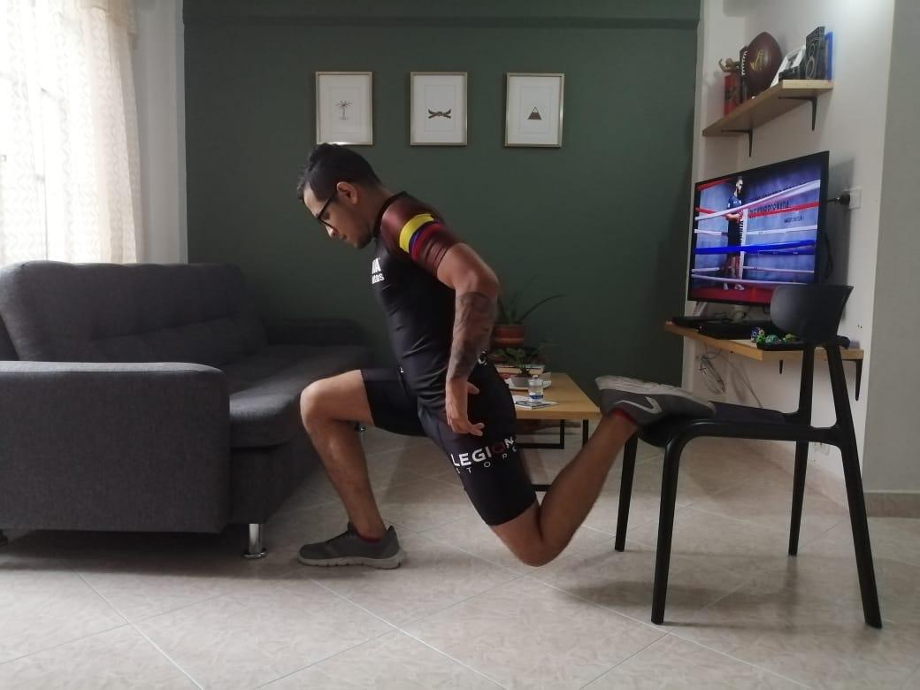 entrenar en casa con mma colombia